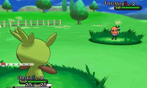 Pokemon X/Y screenshots