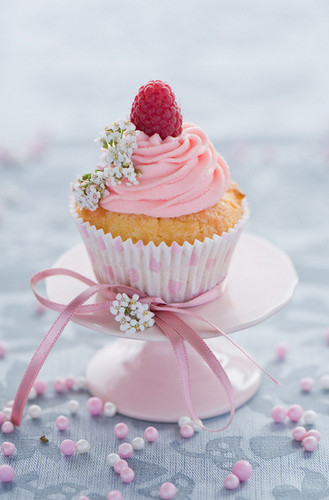 कपकेक वॉलपेपर containing a cupcake, a frosted layer cake, and a bouquet called Pretty कप केक