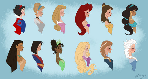 Princess Line Up