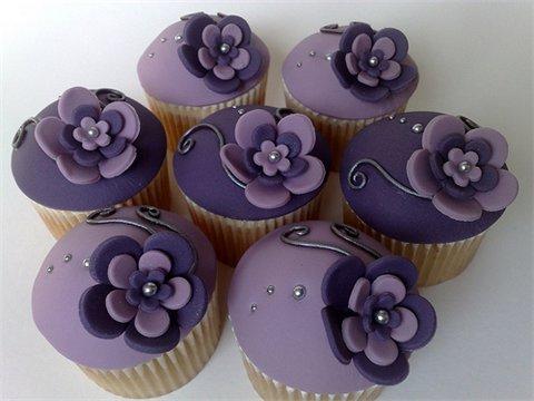 Purple カップケーキ
