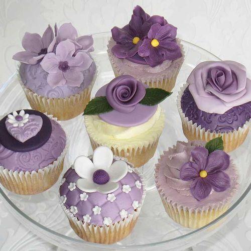 Purple 컵 케이크, 컵 케익, 컵 케 익