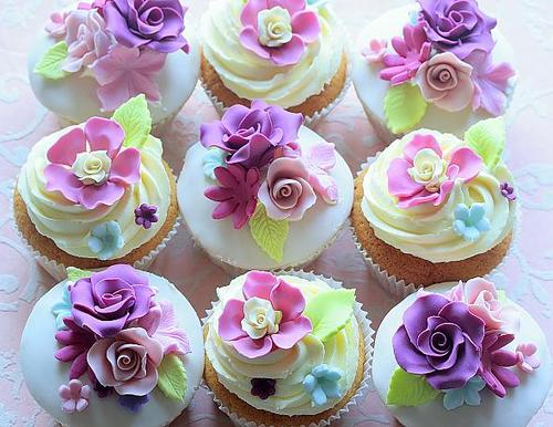 Purple Cupcake - Colors Photo (35336022) - Fanpop
