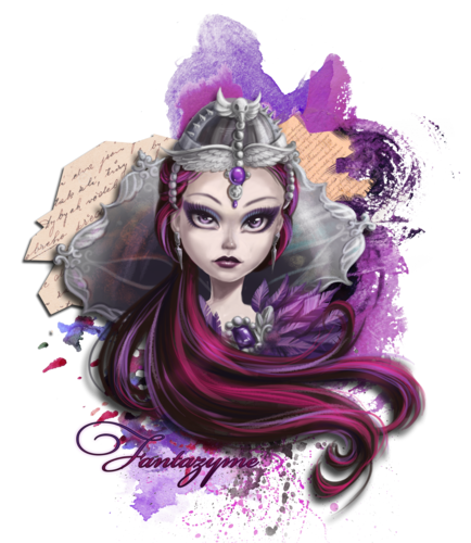 Even After High Hintergrund probably with a bouquet called Raven Queen Ever After High