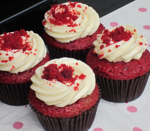 Red 컵 케이크, 컵 케익, 컵 케 익