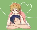Rei and Nagisa (Free!) - yaoi fan art