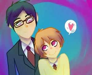 Rei and Nagisa (Free!)