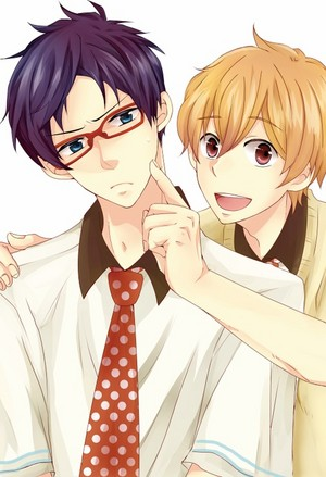 Rei and Nagisa (Free!)