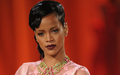 Rihanna suspicious look (V.S. fashion show) - rihanna wallpaper