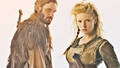 Rollo & Lagertha - vikings-tv-series wallpaper