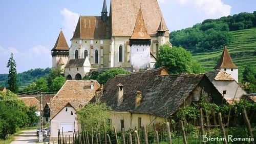 Romania village eastern Châu Âu