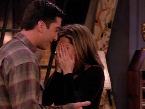 Ross and Rachel wallpaper probably containing a portrait entitled Ross and Rachel 2x15