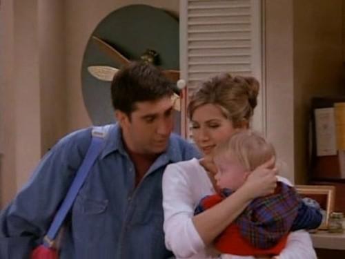 Ross and Rachel wallpaper entitled Ross and Rachel 2x20