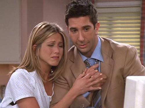 Ross and Rachel wallpaper titled Ross and Rachel 8x03