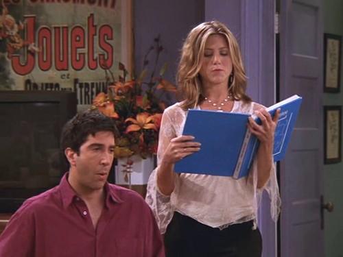 Ross and Rachel 8x09