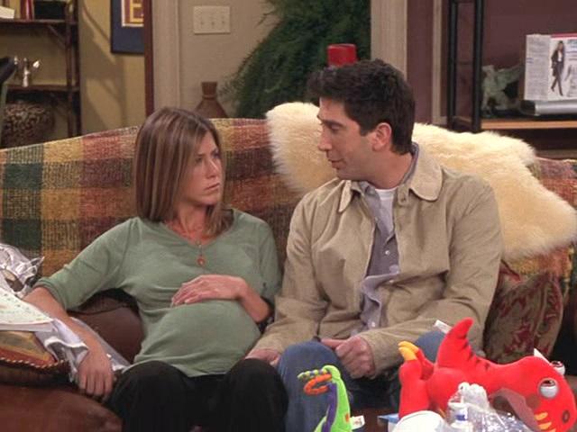 Когда росс узнает что рейчел беременна 21