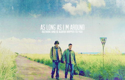 Supernatural wallpaper entitled Sam & Dean