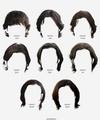 Sam's Hair Styles Through The Seasons