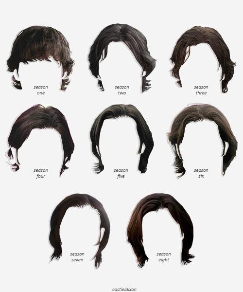 Sam's Hair Styles Through The Seasons