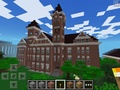 Samford Hall - Auburn University, AL - minecraft photo