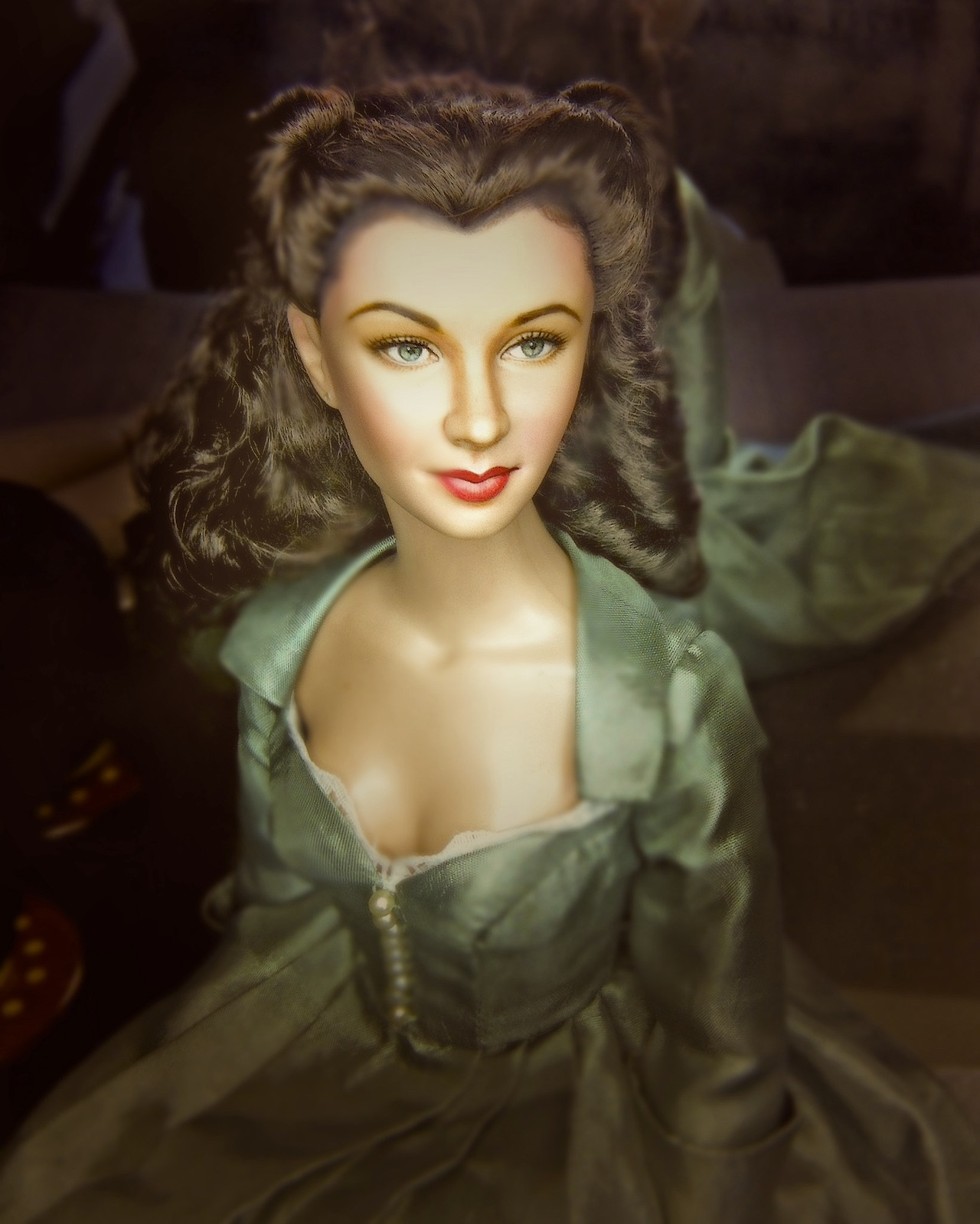 Gone with the wind images scarlett doll hd wallpaper and for Who played scarlett in gone with the wind
