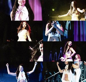 Selena in her Stars Dance Tour (Canada)