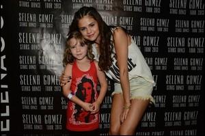Selena meet & greet in Canada