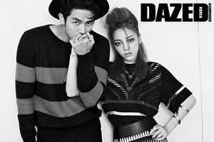 Seulong and Goo Hara for 'Dazed and Confused'