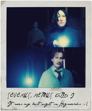 Severus and Remus <3