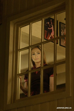 Jennifer Lopez wallpaper possibly with a revolving door, a telephone booth, and a holding cell entitled Shall we dance - 2004
