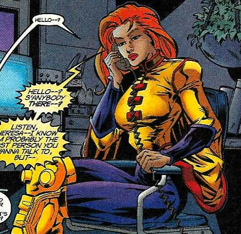 X-Men Hintergrund containing Anime titled Siryn / Theresa Rourke Cassidy