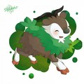 Skiddo - pokemon fan art