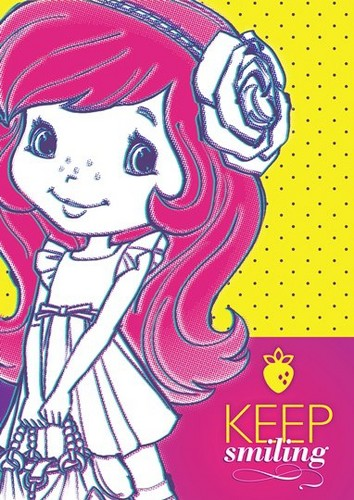 Strawberry Shortcake wallpaper containing anime entitled Strawberry Shortcake