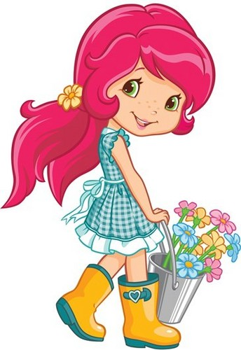 Strawberry Shortcake wallpaper containing anime titled Strawberry Shortcake