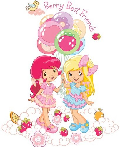 Strawberry Shortcake wallpaper entitled Strawberry and Friends