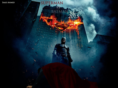 Superman vs Batman Fanmade Poster #1