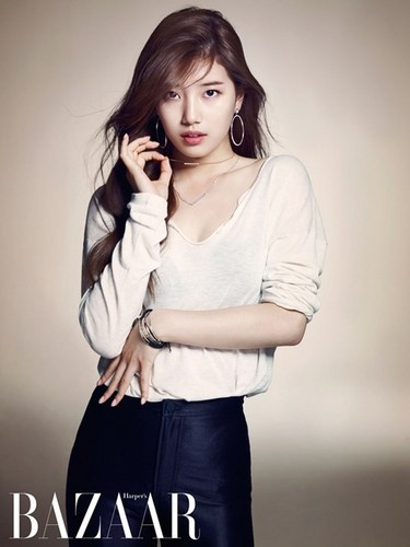 Suzy for 'Harper's Bazaar'