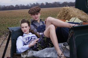 Teen Vogue 2009 photoshoot (behind the scenes)