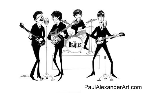 The Beatles Wallpaper Entitled