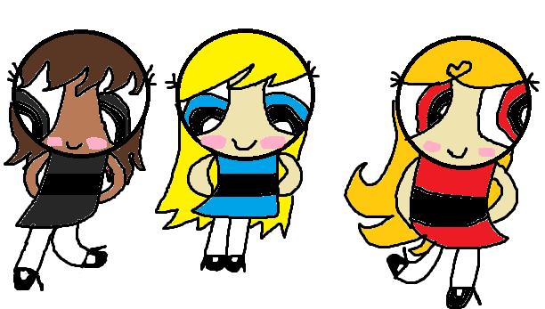 The BeautyBlush Girls as kids