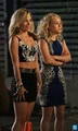 The Carrie Diaries season 2 - set photos of Lindsey Gort and AnnaSophia Robb  - the-carrie-diaries photo