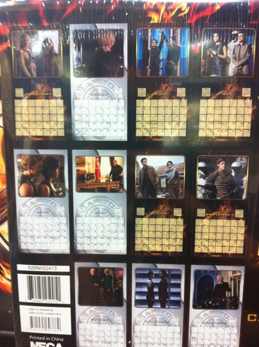 The Hunger Games: Catching огонь calendar