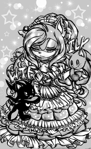 The Lovely Myia and chibi Cuties