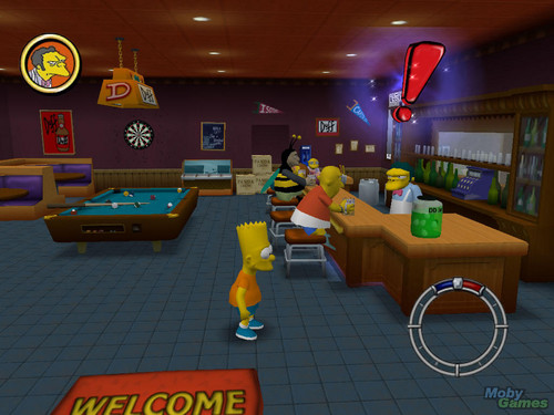 辛普森一家 壁纸 called The Simpsons: Hit & Run