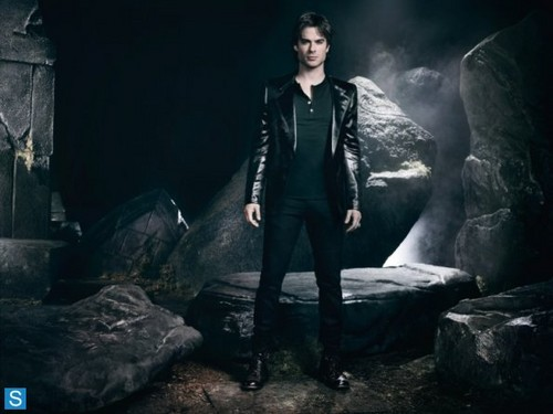 Damon Salvatore wallpaper with a well dressed person titled The Vampire Diaries - Season 4 - Cast Promotional Photos