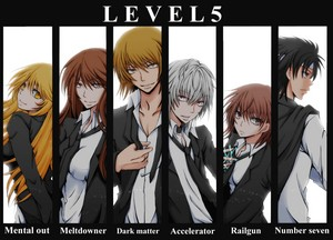 The level 5 espers in Academy City