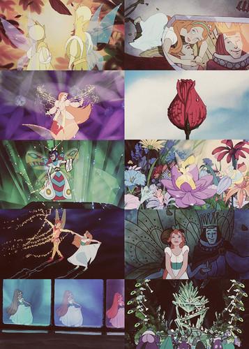 películas animadas fondo de pantalla entitled Thumbelina
