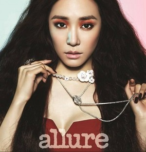 Tiffany for 'Allure Korea'