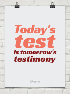 Today´s test