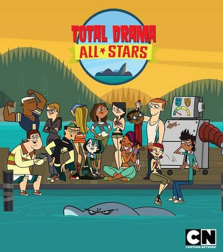 TDI's GwenxDuncan wallpaper probably containing anime titled Total Drama All Stars