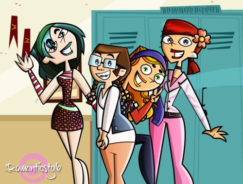 Total Drama School Girls